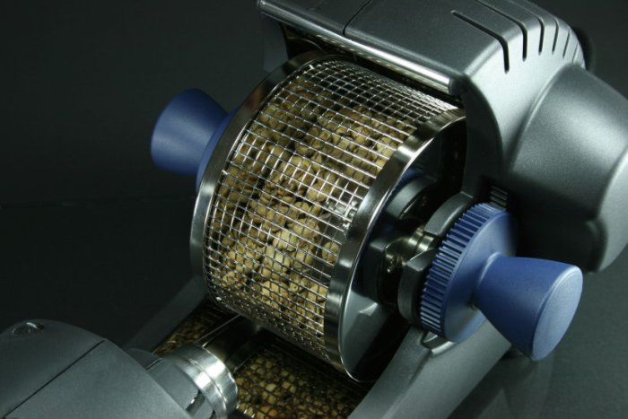 Roasting machine incl. 16 bags of green coffees